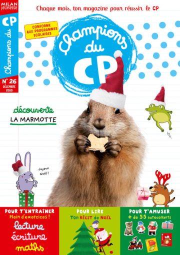 Magazine Champions du CP - 36 pages (abonnement) et 58 pages (kiosque)