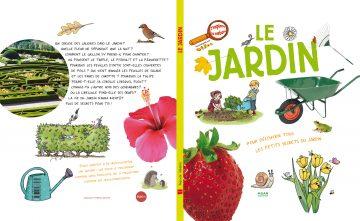 J'explore le jardin - 40 pages