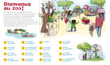 J'explore le zoo - 40 pages