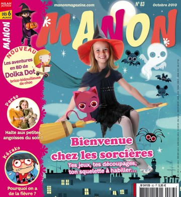 Magazine Manon - 36 pages
