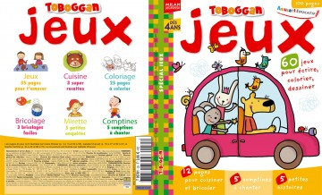 Magazine hors-série Toboggan jeux - 100 pages)