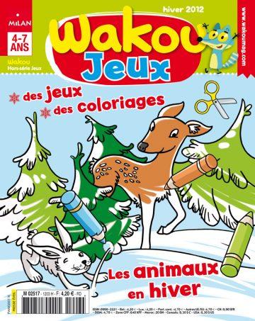 Magazine hors-série Wakou jeux - 52 pages