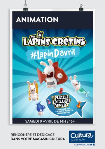 Animation - Lapins crétins / Cultura Portet