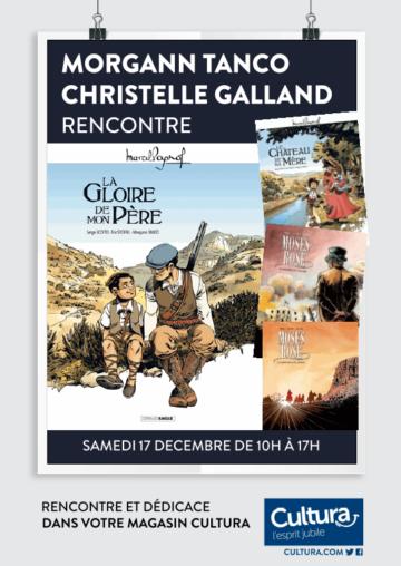 Morgann Tanco - Christelle Galland - La Gloire de mon père / CulturaPortet / éditions Grand angle
