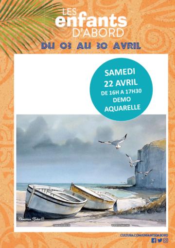 Aquarelle / Mois des enfants / Cultura Portet