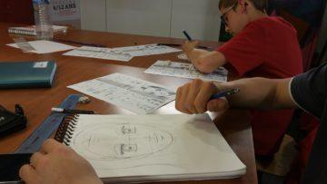 Atelier dessin manga / Mois des enfants / Cultura Portet