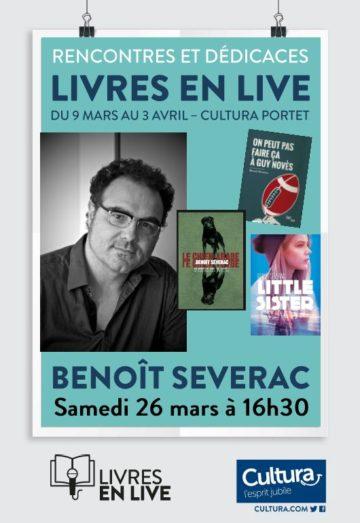 Benoît Séverac - Livres en live / Cultura Portet