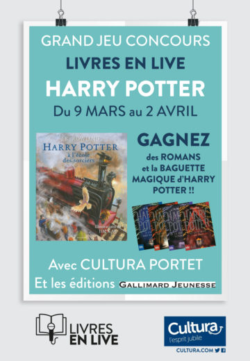 Jeu concours - Harry Potter / Cultura Portet