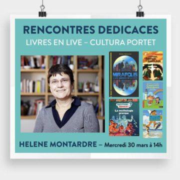 Hélène Montardre - Livres en live / Cultura Portet