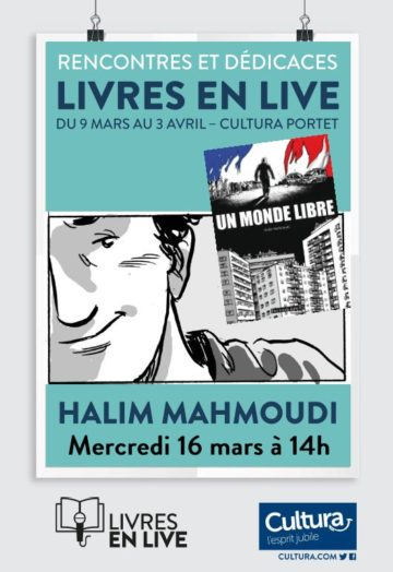 Halim Mahmoudi - Livres en live / Cultura Portet