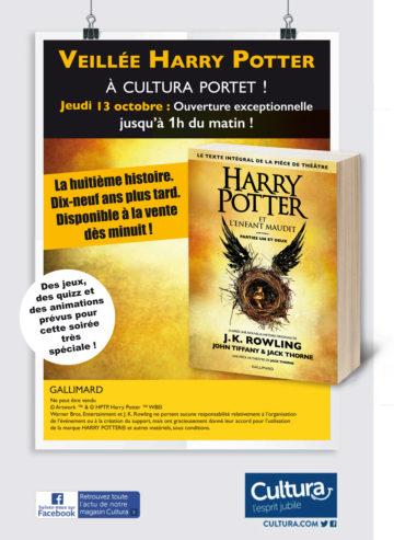 Soirée spéciale - Harry Potter / Cultura Portet