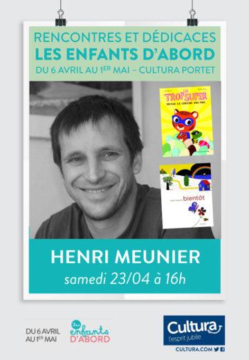 Henri Meunier - Mois des enfants / Cultura Portet