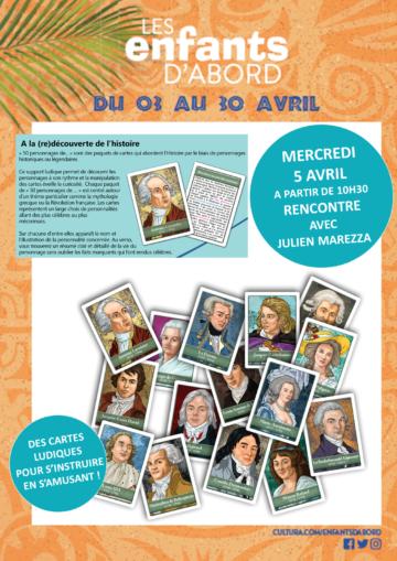 Dédicaces et démo jeu - Julien Marezza / Mois des enfants / Cultura Portet