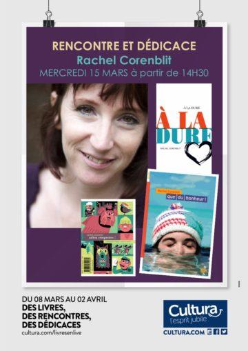 Dédicaces Rachel Corenblit / Cultura Portet