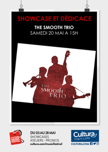 The Smooth trio / Culturamusictour / Cultura Portet
