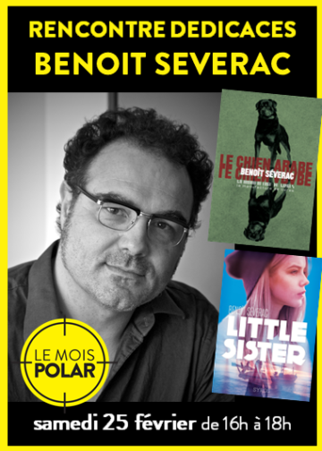 Benoît Séverac - Mois du Polar / Cultura Portet