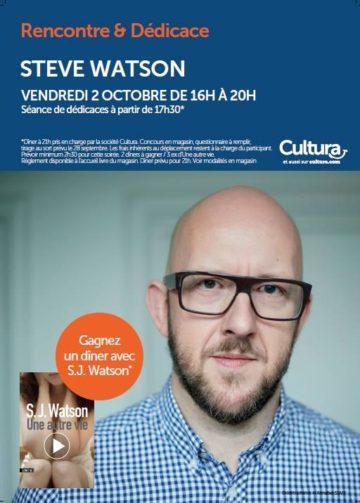 Rencontre et dédicaces - Steve Watson / Cultura Portet 2015