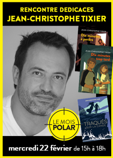 Jean-Christophe Tixier - Mois du Polar / Cultura Portet