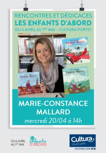 Marie-Constance Mallard - Violette Mirgue / Cultura Portet