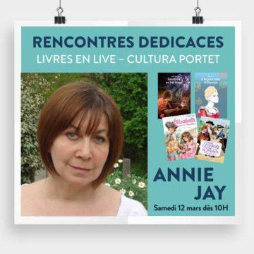 Annie Jay - Livres en live / Cultura Portet