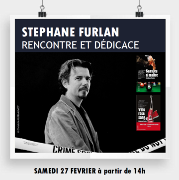 Dédicaces Stéphane Furlan - Mois du polar / Cultura Portet